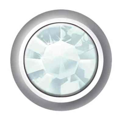 Mini Bezel Set - SWAROVSKI ELEMENTS - Aquamarine
