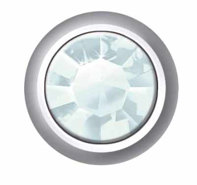 Regular Bezel Set - SWAROVSKI ELEMENTS - Aquamarine