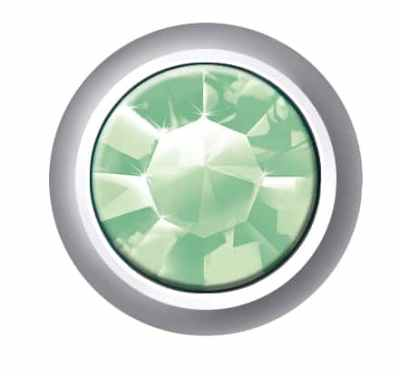 Regular Bezel Set - SWAROVSKI ELEMENTS - Peridot