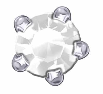 Claw Set - SWAROVSKI ELEMENTS - Crystal