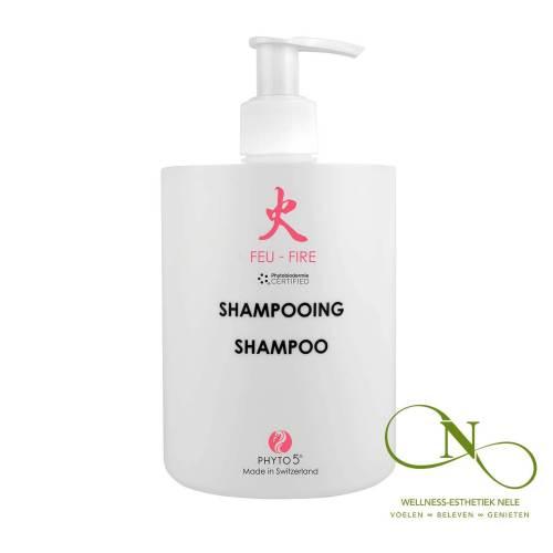 PHYTO 5 Shampoo Ciderazijn Vuur Wellness Esthetiek Nele