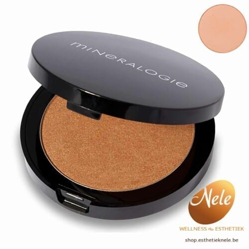 Mineralogie Minerale Make-up Compacte Bronzer Barcelona Wellness Esthetiek Nele
