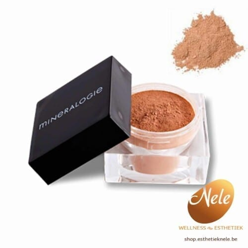 Mineralogie Minerale Make-up Losse Bronzer Indian Sumer Wellness Esthetiek Nele