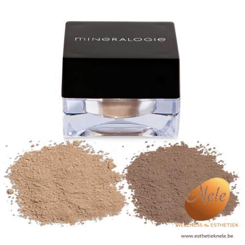 Mineralogie Minerale Make-up Wenkbrauwpoeder Blonde en Brunette Wellness Esthetiek Nele