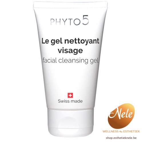 PHYTO 5 Le Gel Nettoyant Visage 50ml Gel Purifiant Wellness-Esthetiek Nele reiniging gelaat