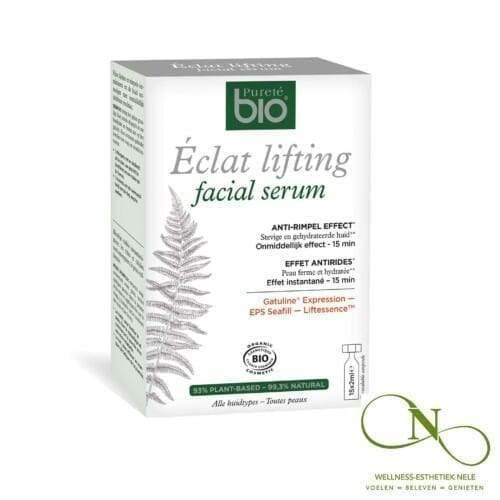 Purete-BIO-Eclat-lifting-Facial-serum-15x2-ampulles-Wellness-Esthetiek-Nele-Bekegem