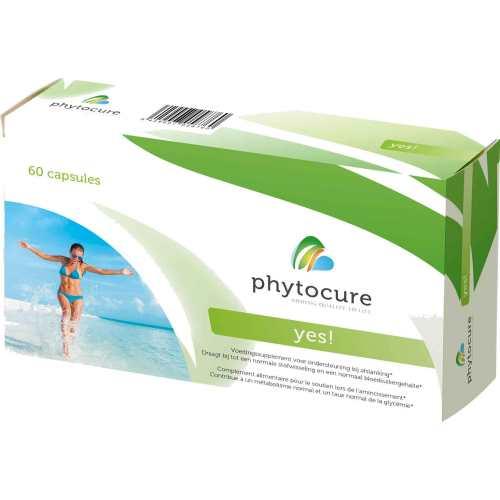 Phytocure Yes! voedingssupplement gewichtscontrole afslanken Wellness Esthetiek Nele