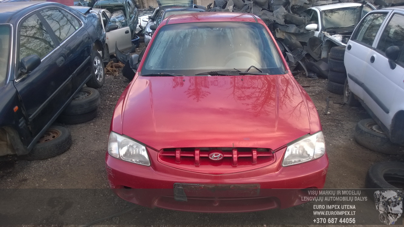 hight resolution of  foto 2 hyundai accent accent 2000 01 2005 11 2001 petrol 1 3