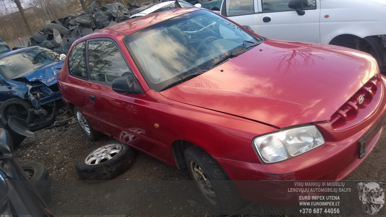 hight resolution of  foto 3 hyundai accent accent 2000 01 2005 11 2001 petrol 1 3