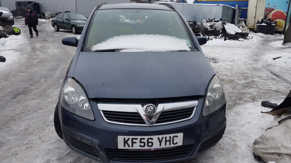 medium resolution of foto 1 opel zafira zafira b 2005 07 2008 01 2006 petrol 1 6