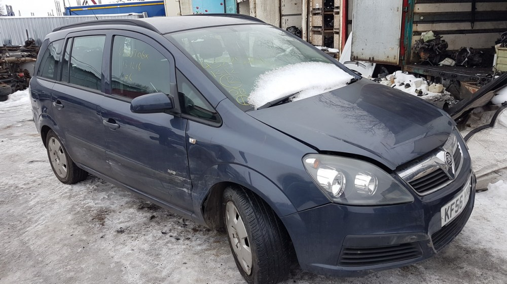 medium resolution of  foto 2 opel zafira zafira b 2005 07 2008 01 2006 petrol 1 6