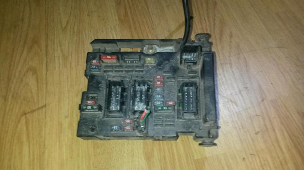 medium resolution of 9643538080 bsm b3 fuse box peugeot 307 2001 2 0l 39eur eis00039187