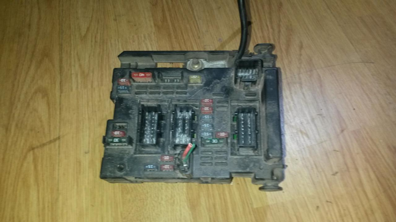 hight resolution of 9643538080 bsm b3 fuse box peugeot 307 2001 2 0l 39eur eis00039187
