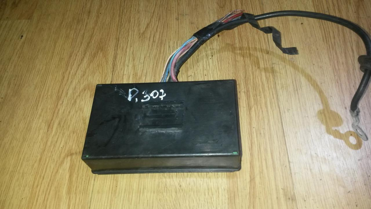 medium resolution of fuse box peugeot 307 2002 1 6l 16eur eis00039222
