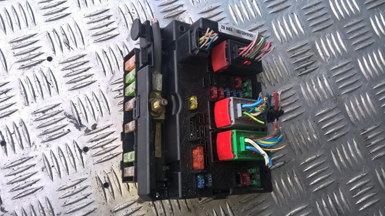 hight resolution of 9646405180 21328852 bsm b5 fuse box peugeot 307 2002 1 4l 36eur eis00098811