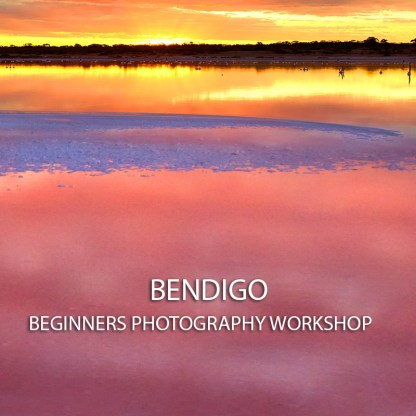 Banner for Bendigo beginners Photography workshop