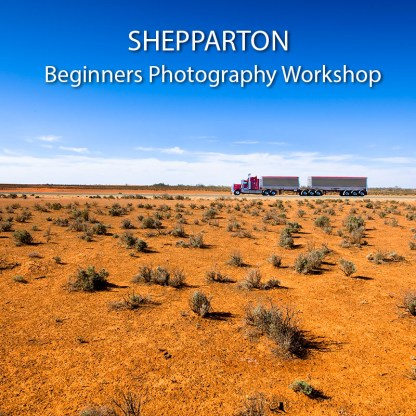 SHEPPARTON BEGINNERS PHOTOGRAPHY WORKSHOP promo picture
