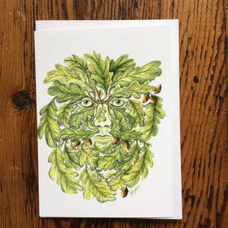 Grrenman Oak Card