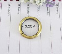 Purse Handbag Wholesale Spring Round Gate Rings