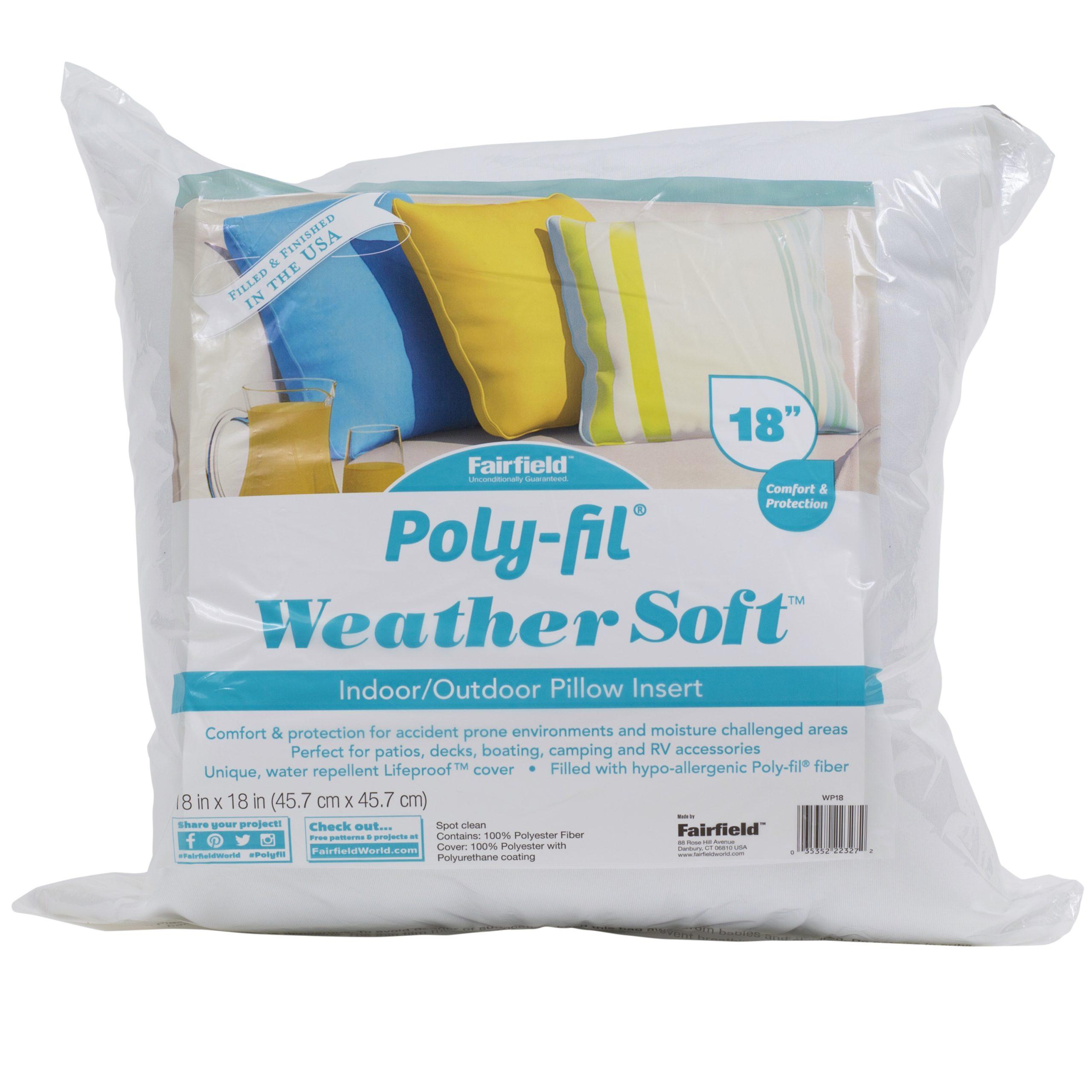 weather soft indoor outdoor pillow 18 x 18
