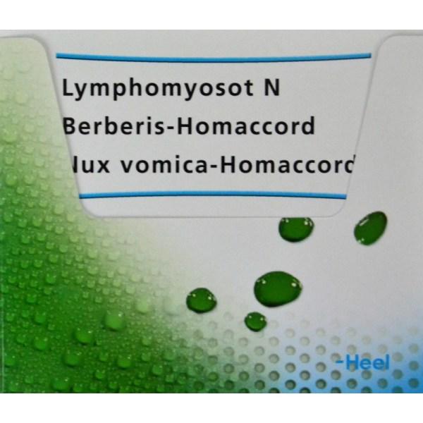 Pack Detox Lymphomyosot Berberis Homaccord Nux Vomica