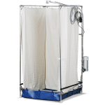 Tall Series portable shower