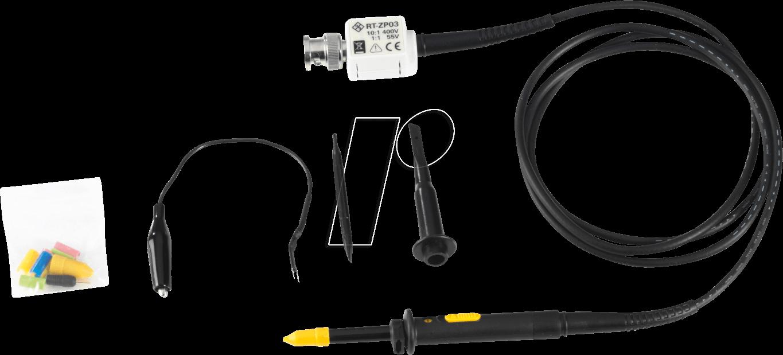 Tastteiler RT-ZP03 passiv umschaltbar 1:1/10:1 von Rohde