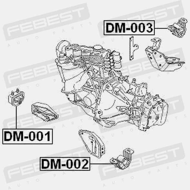 Daewoo Transmission Diagrams