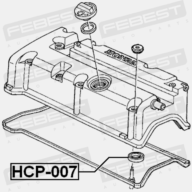 HCP-007 CYLINDER HEAD SPARK PLUG GUIDE HONDA ACCORD CL