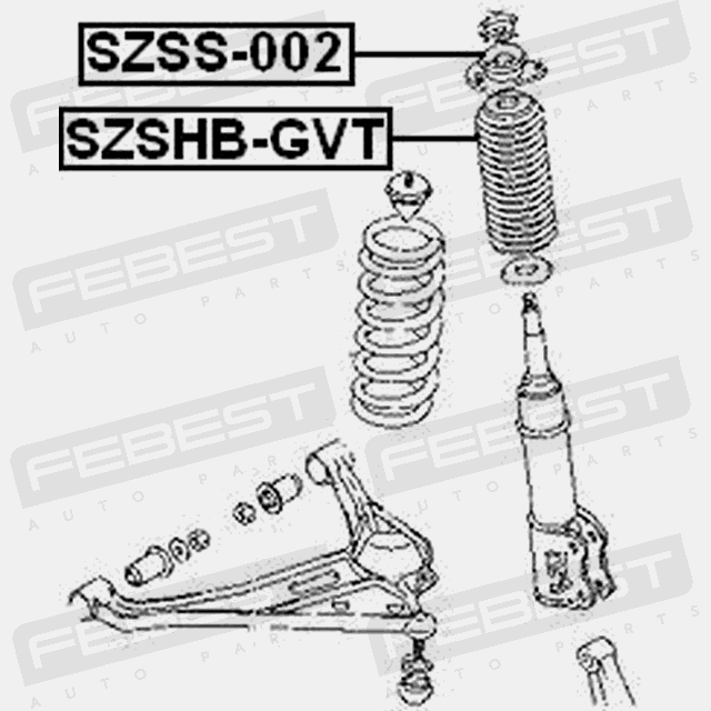 FRONT SHOCK ABSORBER SUPPORT FOR SUZUKI GRAND VITARA 1998