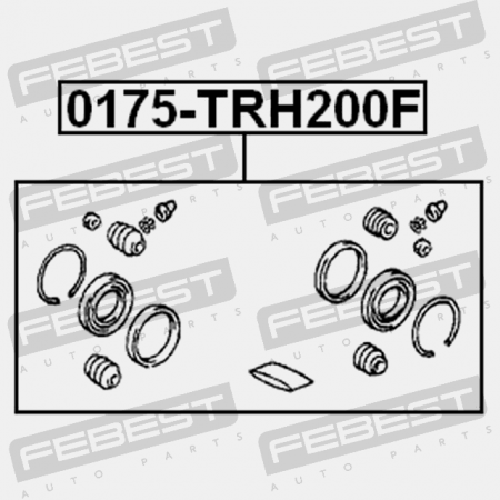 FRONT BRAKE CALIPER REPAIR KIT (TOYOTA 04478-26030, 04479