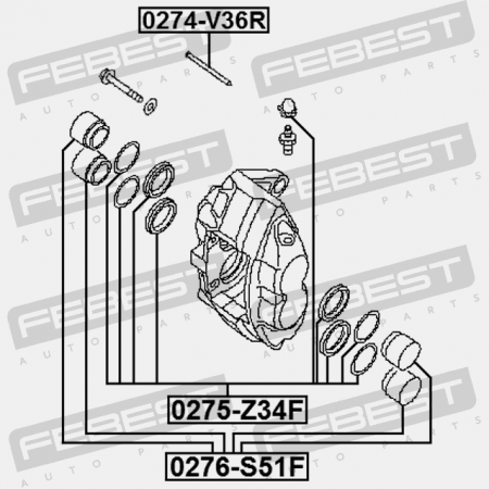 Other Car & Truck Suspension & Steering Parts Piston