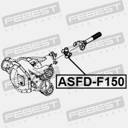 UNIVERSAL JOINT 30X92 (FORD, LINCOLN, MERCURY) Febest
