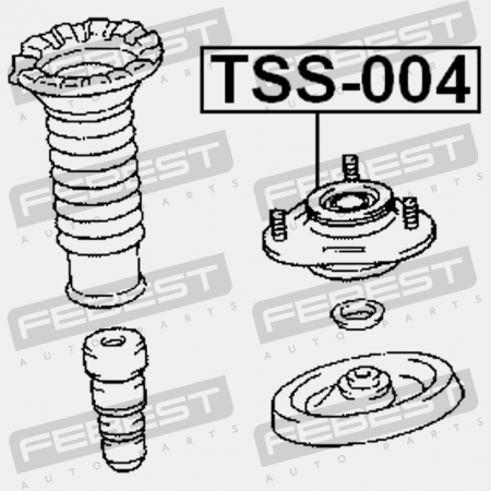FRONT SHOCK ABSORBER SUPPORT (TOYOTA 48609-12420) Febest
