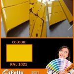 farba proszkowa ral 1021