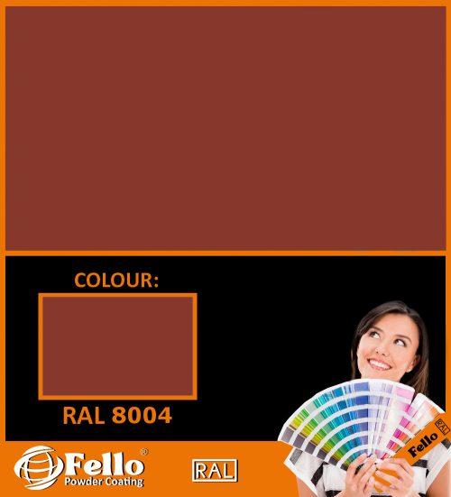 farba proszkowa ral 8004
