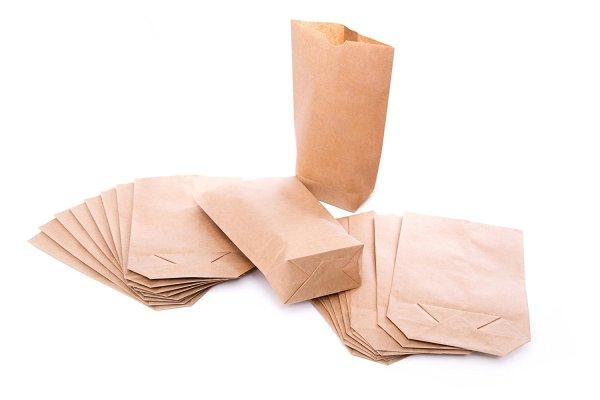 Sac en papier kraft - Fêtes vous même