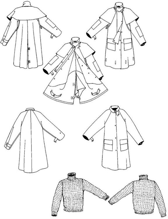 Folkwear #137 Australian Drover's Coat Trench Outback