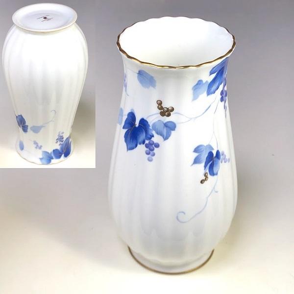 ニッコー葡萄柄花瓶