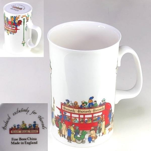 ハロッズHarrodsマグカップ