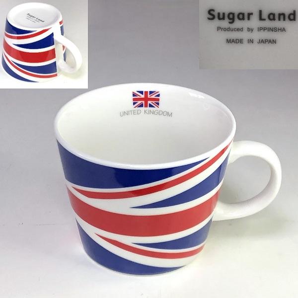 Sugar Land 英国国旗マグカップ