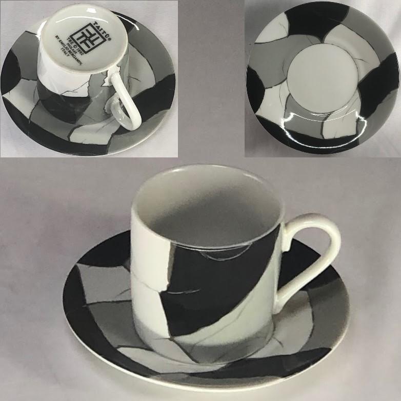 TAITUタイツーデミタスカップ&ソーサーT1903