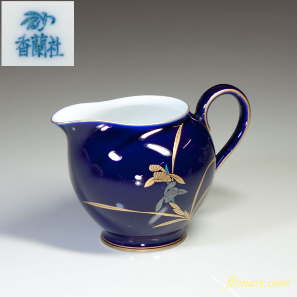 香蘭社瑠璃蘭クリーマー
