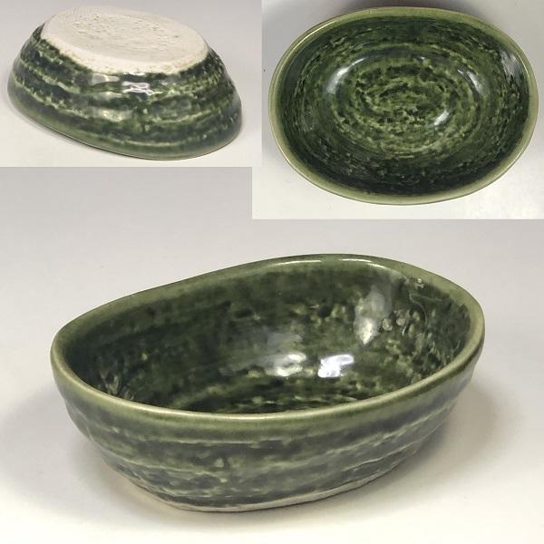 緑釉小鉢W7636