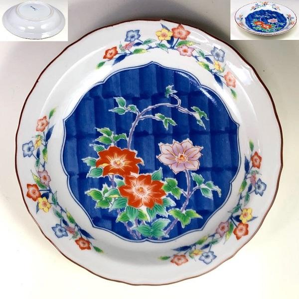 峰山窯六寸皿