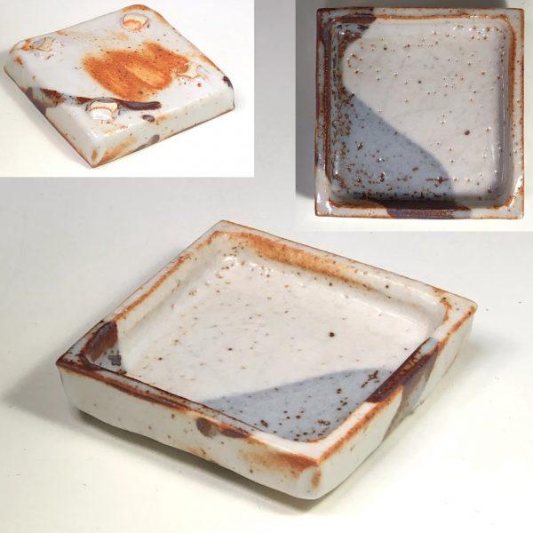 志野豆皿W8037