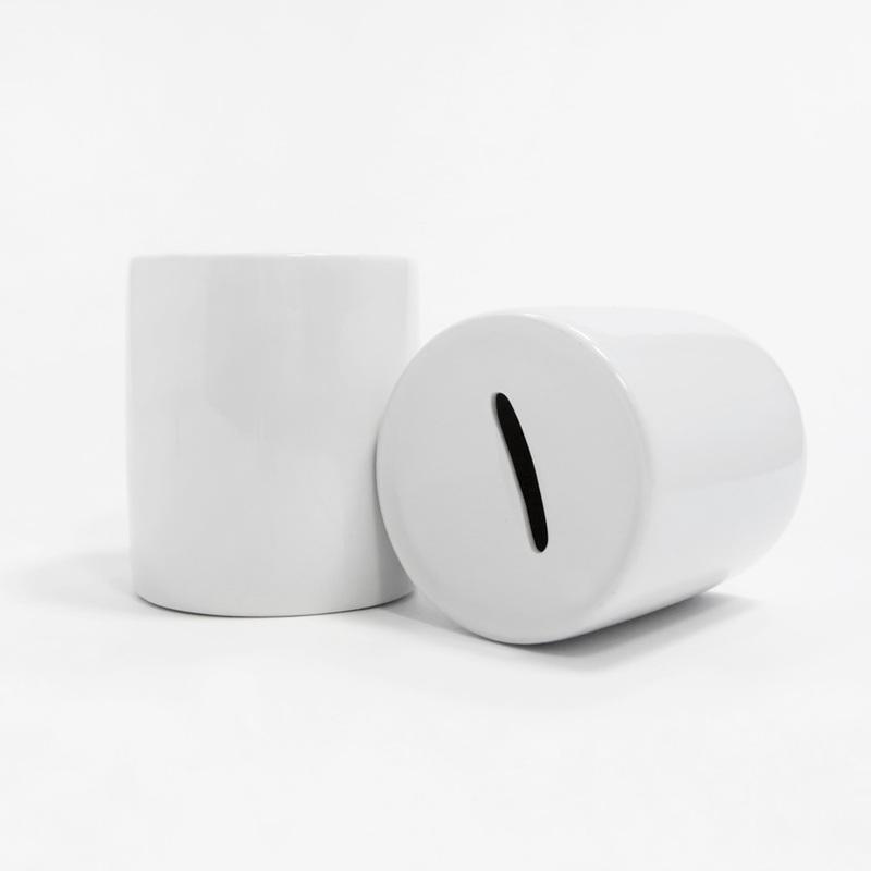 Копилка керамическая с принтом