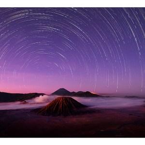 Stars Above Bromo