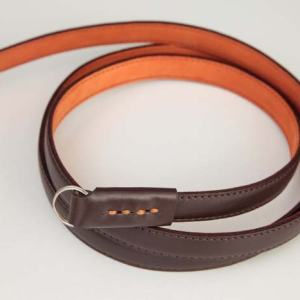 Nucis Leather Good Vibes – Brown and Orange