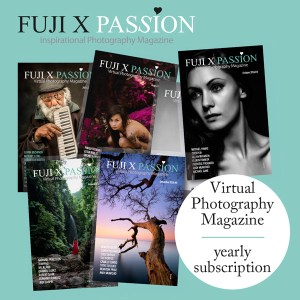 Fuji X Passion Virtual Photography Magazine – Yearly Subscription